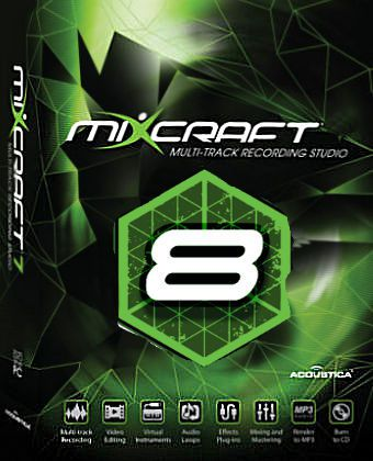 Acoustica Mixcraft 8.0 Build 375 Free Download