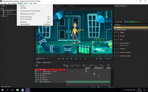 Adobe Character Animator CC 2017 Beta Free Download