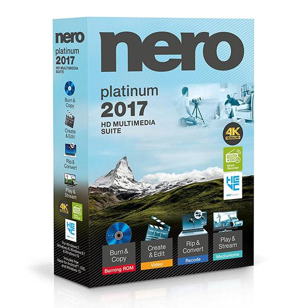 Nero 2017 Platinum 18.0.08500 Free Download