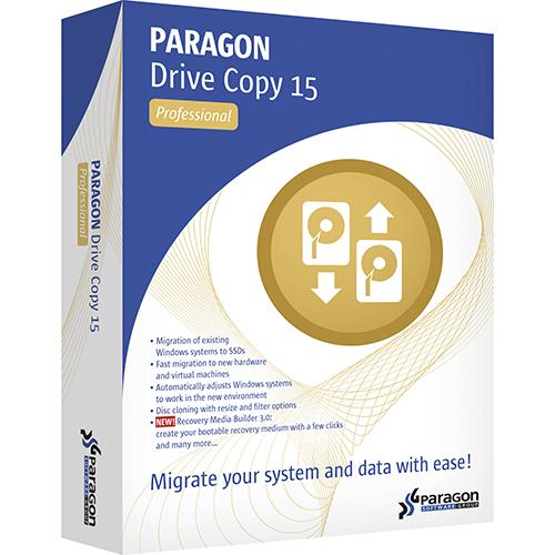 Paragon Drive Copy 15 Professional 10.1.25 Free Download
