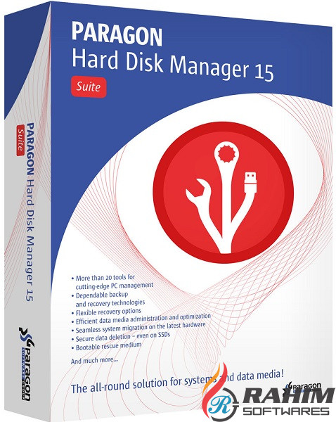 Paragon Hard Disk Manager 15 Professional 10.1 Free Download