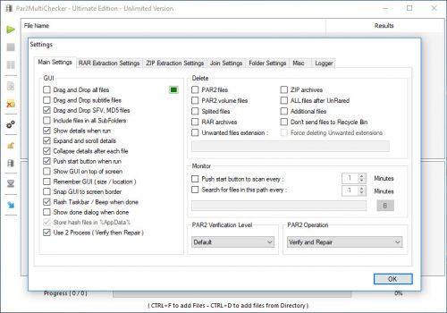 Par2MultiChecker Ultimate Edition 2.21 Free Download