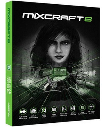 Acoustica Mixcraft 8.0 Build 399 Free Download
