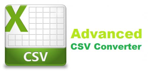 Advanced CSV Converter 6.45 Free Download