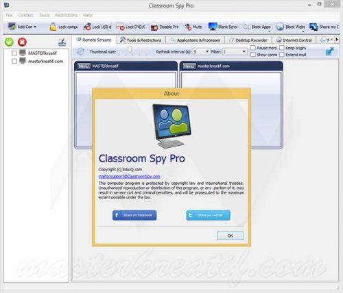 Classroom Spy Pro 4.3.3 Free Download