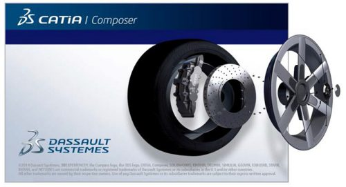 DS CATIA Composer R2018 Free Download