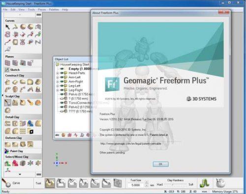 Geomagic Freeform Plus 2017 Free Download