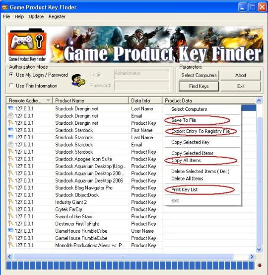 Nsasoft Game Product Key Finder 1.2.7.0 Free Download