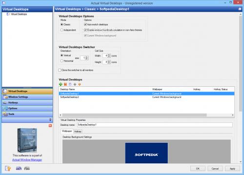 Actual Virtual Desktops 8.11.1 Free Download