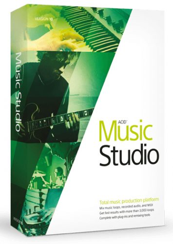 MAGIX ACID Music Studio 10.0 Free Download