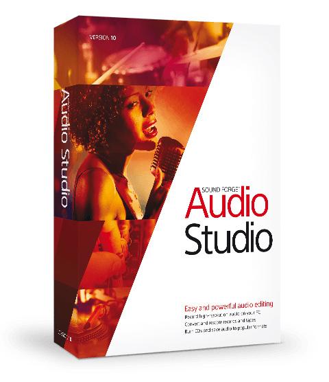 MAGIX Sound Forge Audio Studio 10 Free Download