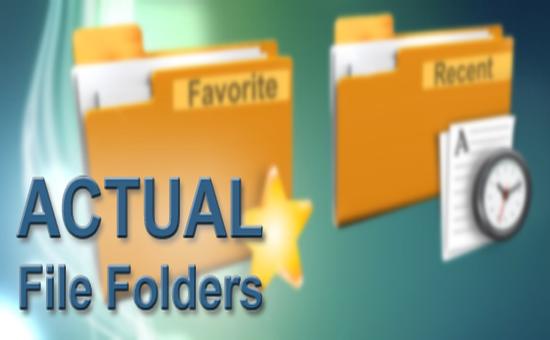 Actual File Folders 1.11.1 Free Download