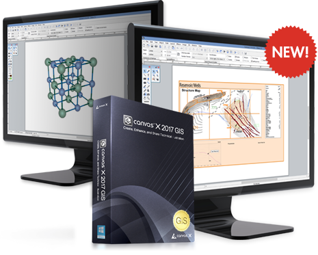 Canvas X GIS 2017 ۤFree Download Latest