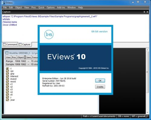 eviews 7 free download full version crack