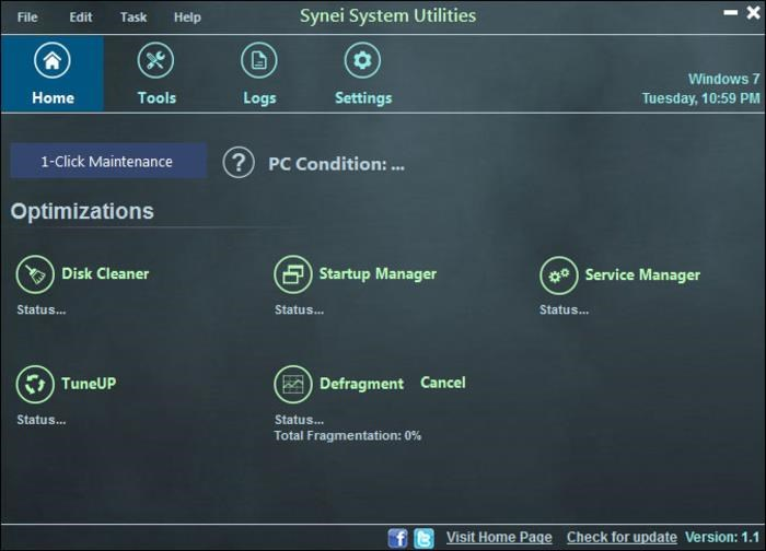Synei System Utilities 4.0 Free Download