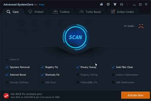 Advanced SystemCare Ultimate 10.1.0.91 Free Download