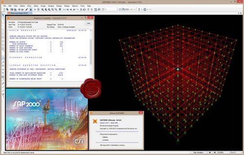 CSI SAP2000 19.2 Free Download