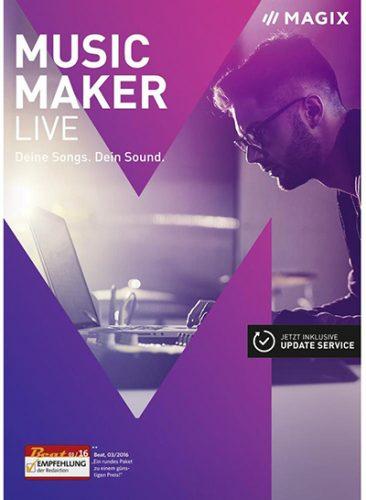 MAGIX Music Maker 2017 Live 24.0.1.34 Free Download