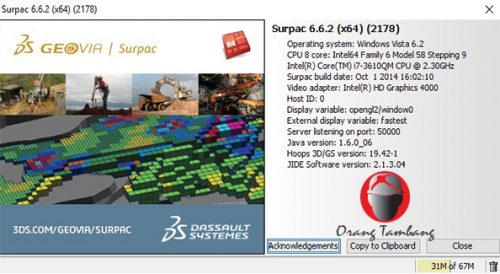GEOVIA Surpac 6.6.2 Free Download