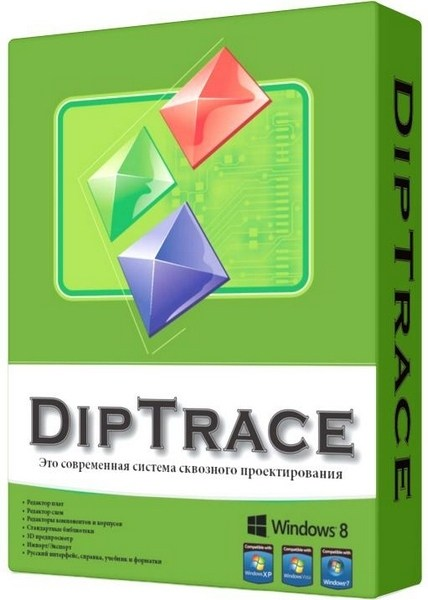 DipTrace 3.0.0.2 with 3D Library Free Download