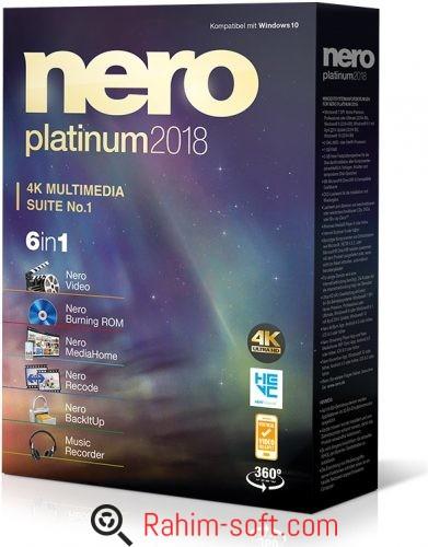 Nero Platinum 2018 Free Download