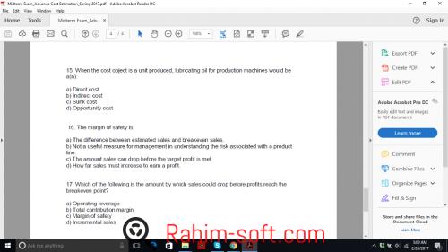 Adobe Acrobat Reader DC 2017 Free Download - Rahim soft