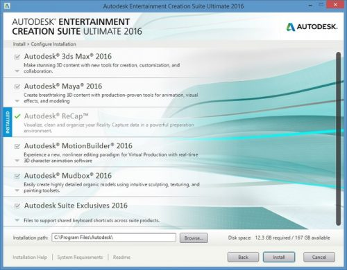 Autodesk Entertainment Creation Suite Ultimate 2016 Free Download