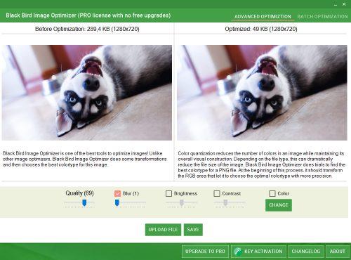 Black Bird Image Optimizer Pro Free Download