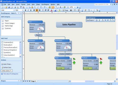 Microsoft Visio Professional 2007 SP3 Free Download