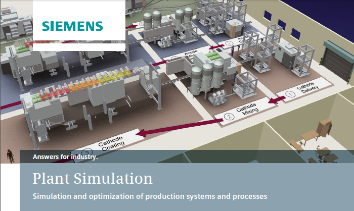 Siemens Tecnomatix Plant Simulation 14.0
