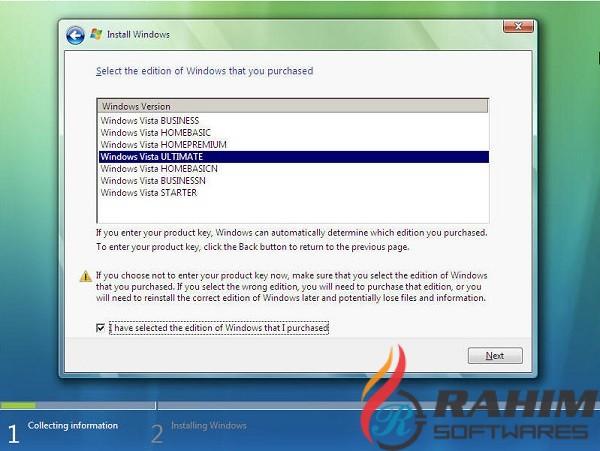 Windows Vista ISO Free Download