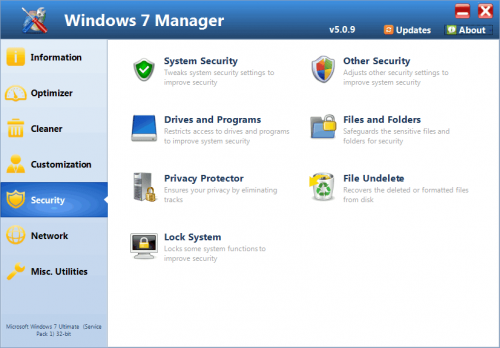 Windows 7 Manager 4.1.3 Final Portable Free Download