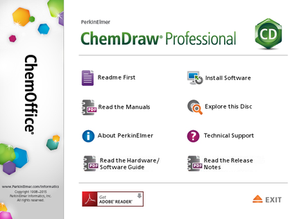 PerkinElmer ChemDraw Professional 16.0.1.4