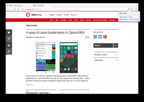 Opera 42.0 Final Portable Free Download