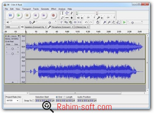 Audacity 2.1.2 Free Download