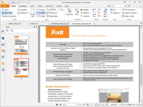 Foxit Reader 8 Portable Free Download