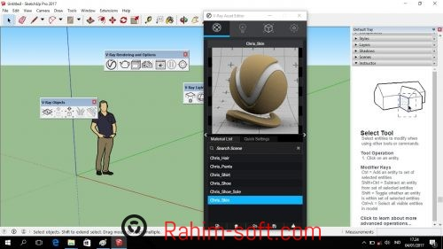 V-Ray 3.40 for SketchUp 2017 Free Download