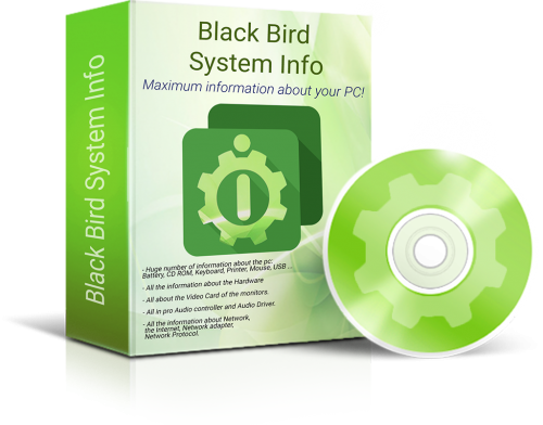 Black Bird System Info Pro Free Download
