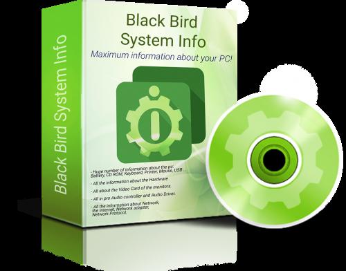 Black Bird System Info Pro Free Download