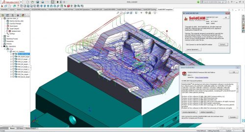 SolidCAM 2017 SP1 HF3 For SolidWorks 2012-2018 Free Download