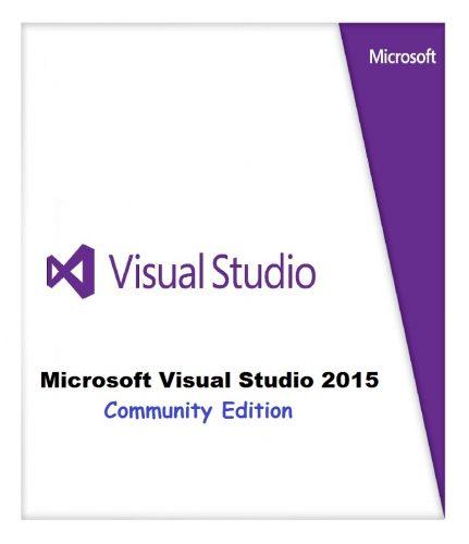 Microsoft Visual Studio 2015 Community Edition Free Download