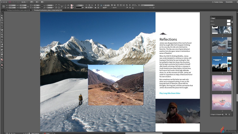 Adobe InDesign CC 2015 Portable Free Download