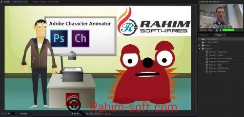 Adobe Character Animator CC 2017 Portable Free Download