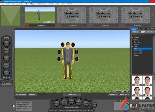 FrameForge Storyboard Studio Pro 4.0 Free Download