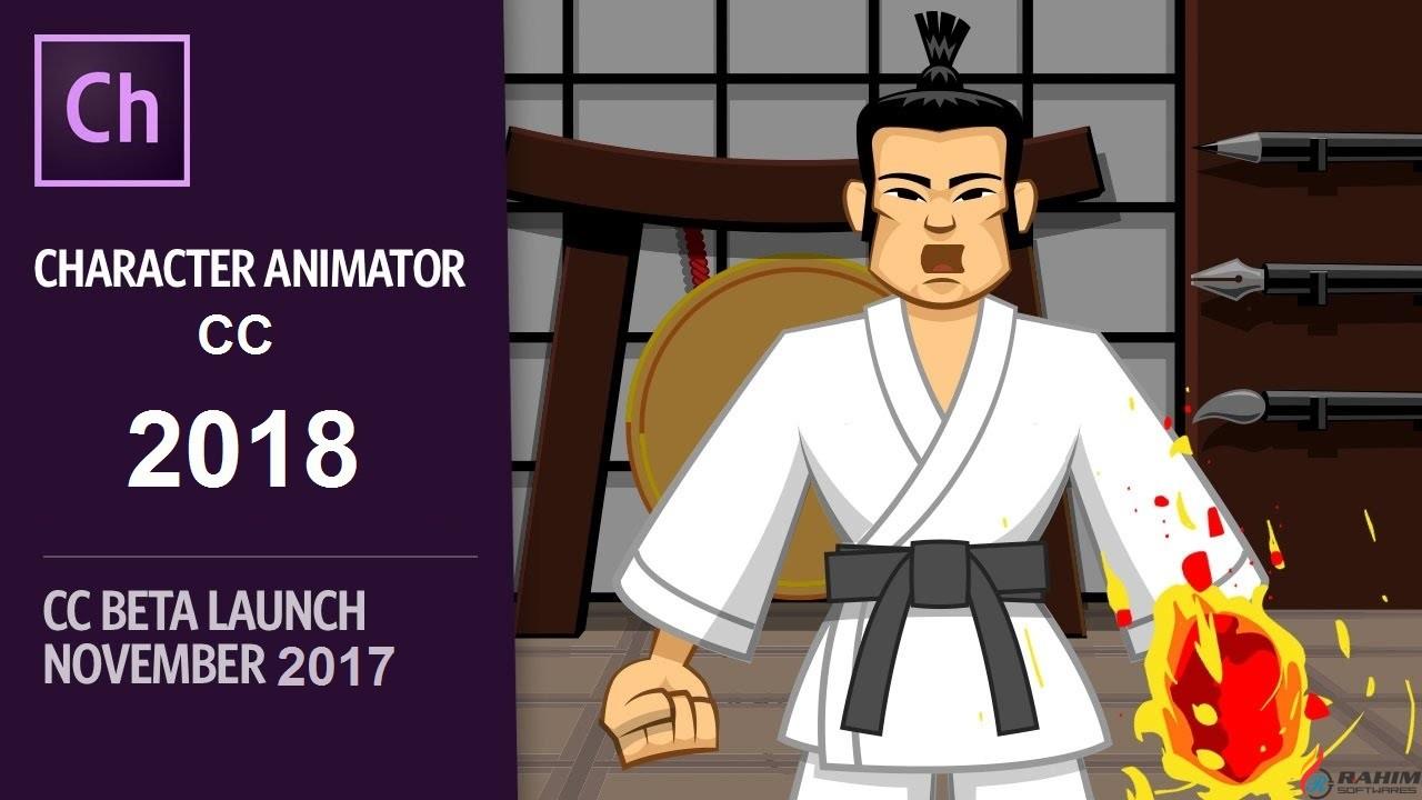 Adobe Character Animator CC 2018 Free Download