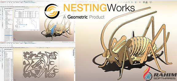 Geometric NestingWorks 2018 For SolidWorks 2018 Free Download