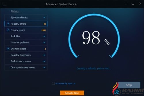 Advanced SystemCare Pro 11 Portable Free Download