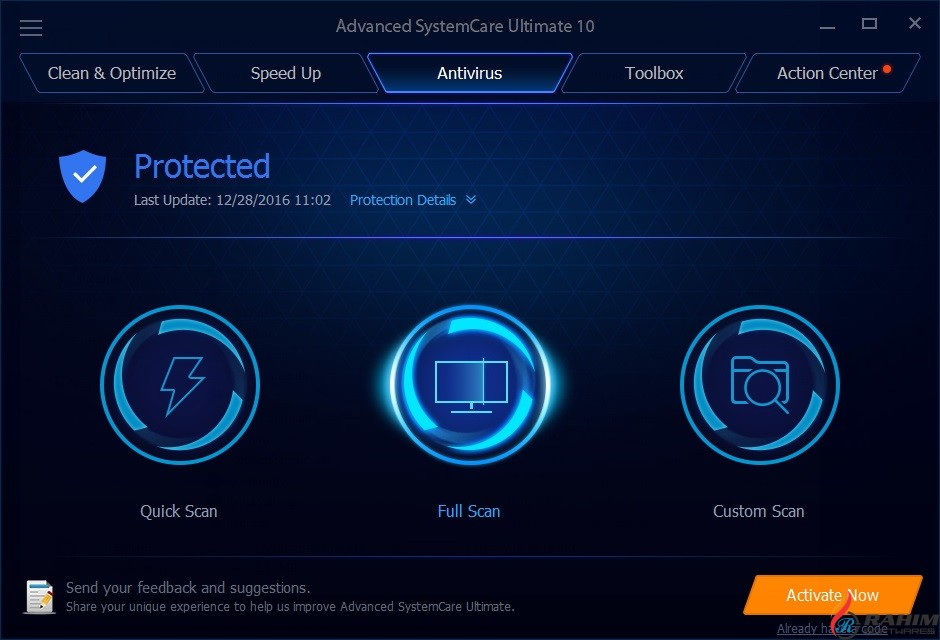 Advanced SystemCare Pro 11 Free Download