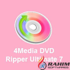 4Media DVD Ripper Ultimate 7.8.21 Portable Free Download