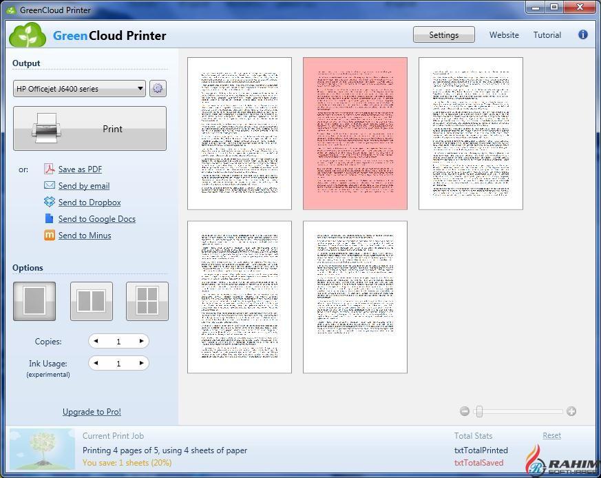 GreenCloud Printer Pro 7.8.3.0 Free Download